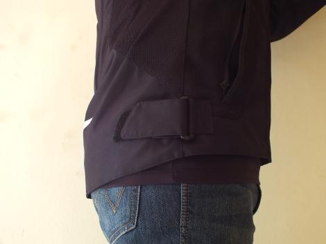 Waist adjustment strap