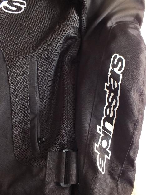 Left side outer pocket