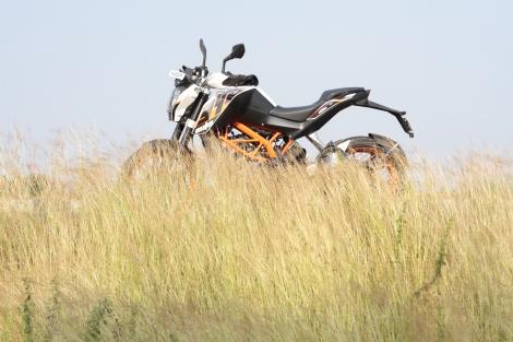 THE KTM Duke 390