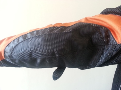 Cordura Fabric on the Elbow area
