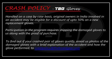 Crash Policy Details. Pic credit : TBG Facebook page.