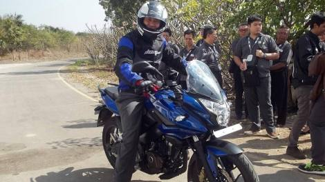 Pulsar 200AS launched previously at Indonesia